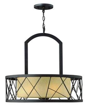 Fredrick Ramond FR41613ORB, Nest Large Drum Pendant, 3 Light, 450 Watts, Oil Rubbed Bronze (Fredrick Ramond Nest Oil)