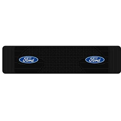 Plasticolor 001820R01 Ford Oval Logo SUV Truck Rear Runner Floor Mat: Automotive