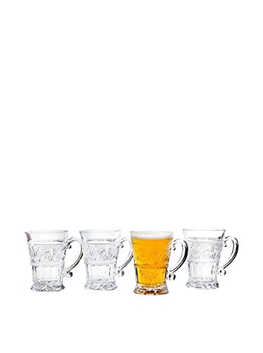 Renaissance 12 oz. Mug (Set of 4) (Crystal Glass Mug)