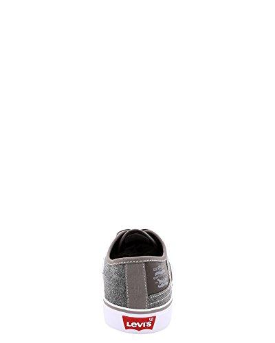 Levis Mens Monterey Chambray Core Mode Sneaker Charbon De Bois