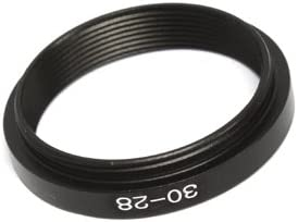 30mm-28mm 30-28 mm 30 to 28 Step Down Ring Filter Adapter