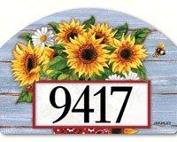 Magnet Works MAIL71095 Bandana Sunflowers Yard DeSign