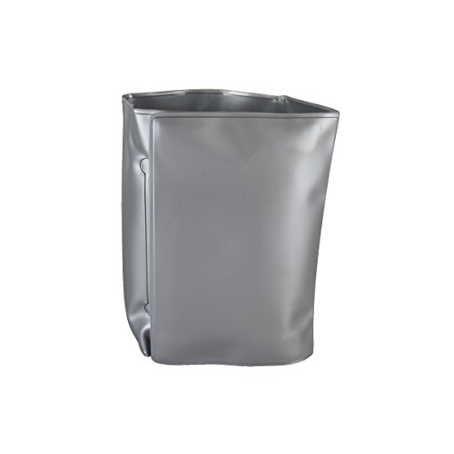 Bar Craft 5212365 Wrap Around Gel Filled Wine Cooler, Silver ()