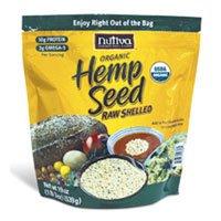 Hempseed, 95% organic, Shelled, 19 Oz (4-Pack) by Nutiva