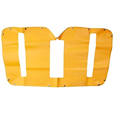 Belmor WF-2189Y-1 Yellow Winterfront Truck Grille Cover for 2002-2003 International IC Bus: Automotive