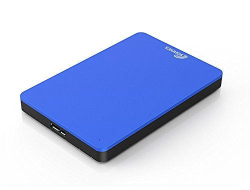 Sonnics 160GB Blue External Pocket Hard Drive USB 3.0 Compatible with Windows PC, Mac, Xbox 360 & Smart TV (320 Gb Usb)