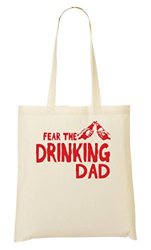 Cp Fear The Drinking Dad Handbag Shopping Bag