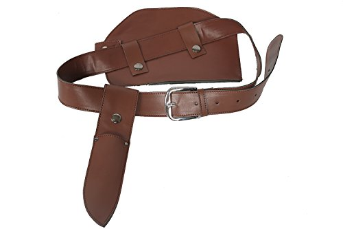 Uncharted Chloe Frazer Belt Holster Deluxe PU Straps Pouches Cosplay Costume Props