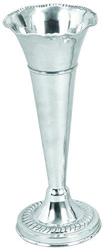 Deco 79 30557 Aluminum Flower Vase, 15