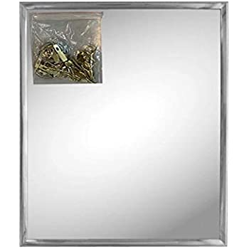 Amazon Com Andalus Wall Mirror With Silver Frame 1 Pack
