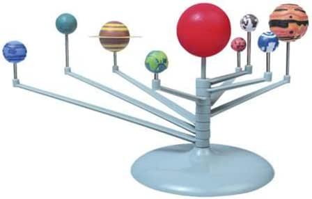 مجموعة دراسة العلوم والدراسة ذات النموذج ثلاثي الأبعاد من سولار سيستم، هدية نموذج تعليمي للفلك