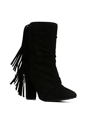 Noir Giuseppe Bottines 5708561629 Suède Femme Design Zanotti ww1CqaA
