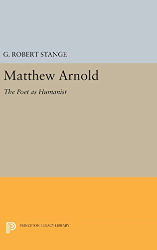 Matthew Arnold – The Poet as Humanist
