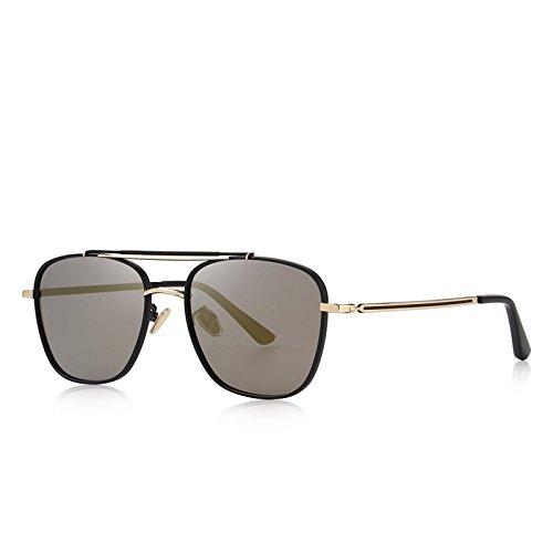 TIANLIANG04 Dimensions Hommes Lunettes de soleil polarisées lunettes Fashion homme carré 100% UV Protection