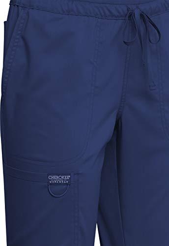 CHEROKEE Workwear WW Revolution Mid Rise Tapered Leg Drawstring Pant WW105