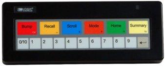 Bematech KB1700U-DP-BK Bump Bar Programmable Keypad