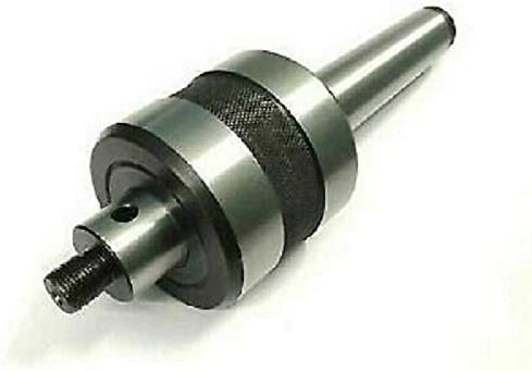 R&D REVOLVING Live Center MT3 Threaded M12 X 1 with 50 MM Mini Scroll Chuck