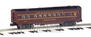 Streamliner 4 Car Set (O-27 Williams Streamline Passenger Set, PRR (4))