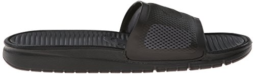 Nike Men's Benassi Solarsoft Slide Basketball Shoes Black (Black / Black-dark Grey) FwKLtUtg