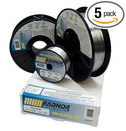 Radnor Wire Mig Er4043 .035' -1 Case of 5 Spools - 1lb per Spool