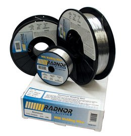 0.030'' ER4043 Radnor 4043 Aluminum MIG Wire 1# 4'' Spool (5/Pack) by Radnor Safety