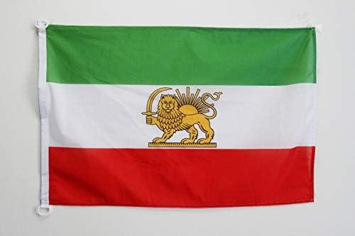 AZ FLAG Bandera de IRÁN Antigua 90x60cm Uso Exterior - Bandera ...