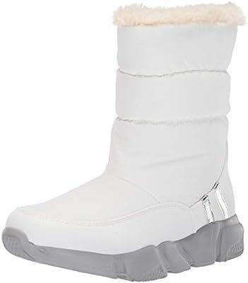 9506626ce989d Steve Madden Women's SNOWDAY Fashion Boot, White, 6 M US: Amazon.com ...