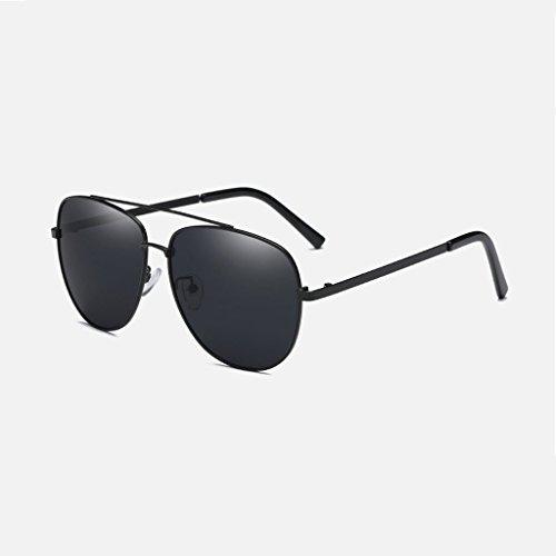 Hombres Gafas de lens Lens Gafas LSX libre silver aire sol nueva Frame clásica de frame viaje polarizadas de conducción Color water Black al Black Gray Silver LX nzq1wFz
