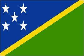 Solomon Islands Flag Polyester 3 ft. x 5 ft. Solomon Islands Flag