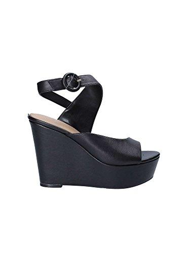 Guess FLGRM2 LEA03 Sandales Compensées Femmes Noir D7596B0B