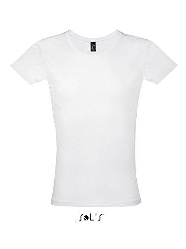 Men´s T-Shirt Must - Farbe: White - Größe: S