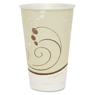Sweetheart Thin Wall Hot/Cold Foam Cup 16 oz Jazz Design 750/cs 16 Ounce Jazz Design