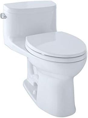 Toto MS634114CEFG01 Supreme-2 One-Piece High-Efficiency ToiletSanaGloss 1.28GPF Cotton