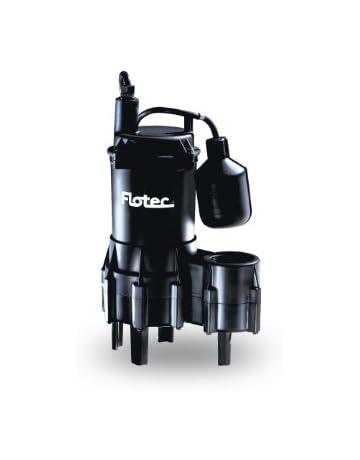 Flotec FPSE3200A Pump, Heavy-Duty, Cast Iron Automatic Submersible Sewage Pump - 4