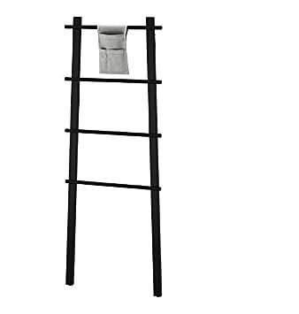 Ikea Vilto Handtuchständer Handtuchhalter Holz Schwarz Birke Bad Für