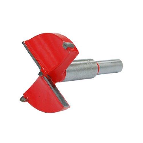 QISF 16-teilig Kunststoff Rundschaft f/ür Holz Sperrholz 15-35 mm Forstner Bohrer-Set Titanbeschichteter Stahl