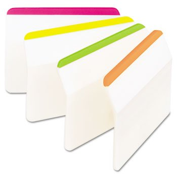 Post-It® Durable Tabs FLAG,HANGING FILE TABS,FL A7074050D (Pack of30) by MMM C