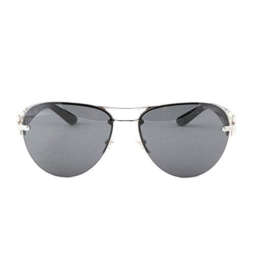 Versace VE2159B Sunglasses 100087-59 - Silver Frame, - Versace Sunglasses All