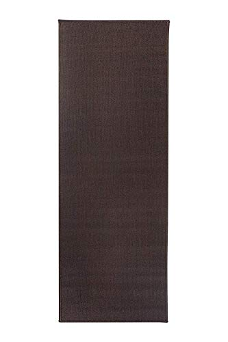 (Ritz Accent Door Rug Runner with Non-Slip Latex Backing, 20-Inch by 60-Inch Kitchen & Bathroom Runner Rug, Chocolate Brown )