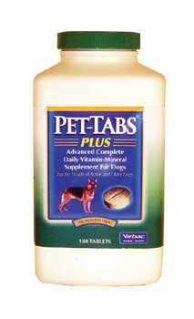 (Pet-Tabs Plus For Dogs - 180 Tabs)