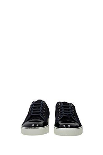 Bleu Lanvin Suède Sneakers EU FMSKDBB1VBALP15 Homme xxUXrZ