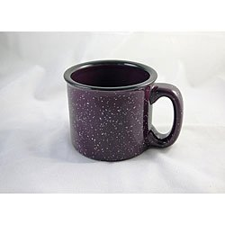 Santa Fe Campfire Coffee & Tea Mug Perfect For Camping or Home , Plum 14oz (Pack of 2)