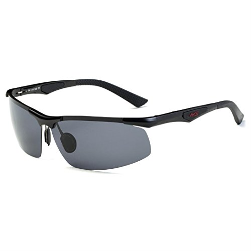 New AL-MG Riding Glasses, Polarization Clear Fishing - Target Reader Sunglasses