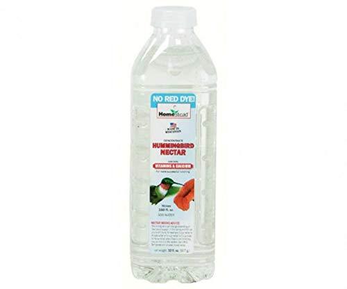 Homestead 32 oz Hummingbird Clear Nectar Concentrate (Liquid) - 4372 (32 oz Packaging) (Hummingbird Concentrate Nectar)