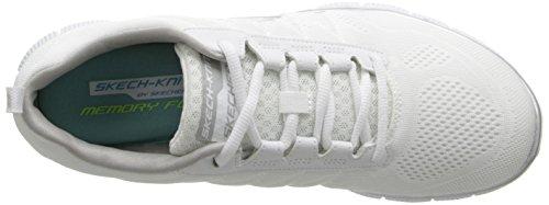 skechers FLEX APPEAL - TRIBECA - Zapatillas de deporte para mujer Blanco (White)