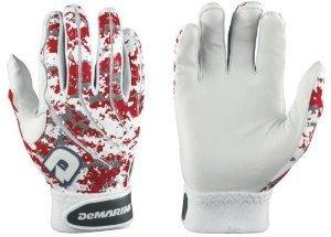 DeMarini Digi Camo wtd6104大人用野球バッティング手袋 – スカーレット – Medium B0148TQ1QU