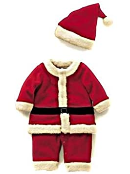 f7ddb53a0 Infant Christmas Santa Outfit With Hat, Age 12-18 Months. Will fit Approx