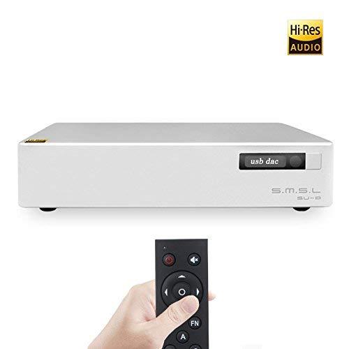 HiFi Decoder SMSL SU-8 2ES9038Q2M USB PCM32 768kHz DSD64 DSD512 DSD Balance DAC Decoder by SMSL