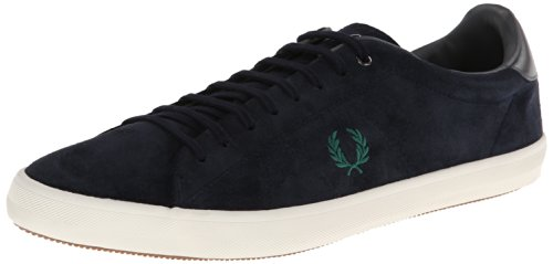 Fred Perry Howells Unlined Suede Navy Blu