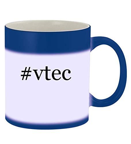 #vtec - 11oz Hashtag Magic Color Changing Mug, Blue